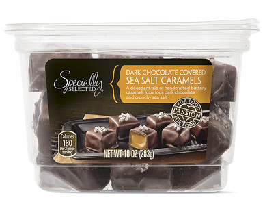 Specially Selected Dark Chocolate Covered Sea Salt Caramels