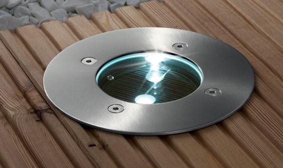 Lampe de terrasse encastrable lampe de terrasse for Lampe de terrasse solaire