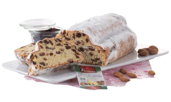Gâteau de Noël au beurre et aux amandes