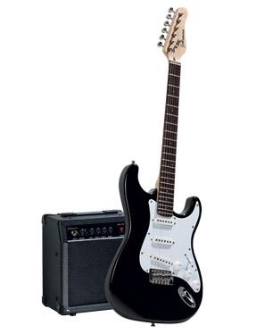 guitare electrique avec ampli