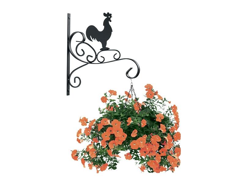 Suspension murale pour pot de fleurs