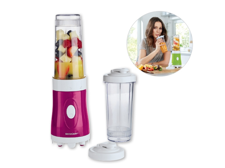 Silvercrest smoothie maker fresh smoothies 2 tumblers with - Silvercrest kitchen tools opiniones ...