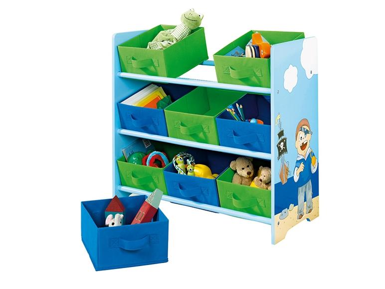 scaffale portaoggetti per bambini lidl italia archivio offerte promozionali. Black Bedroom Furniture Sets. Home Design Ideas