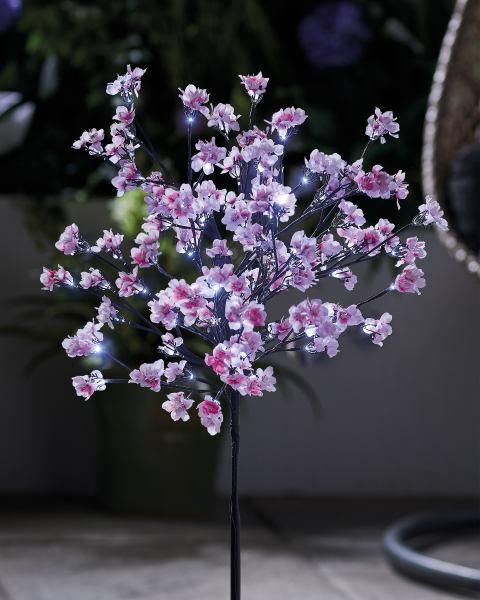 180cm Led Solar Cherry Blossom Tree Aldi Opinions Products