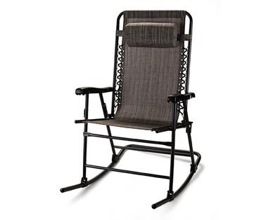 Terrific Gardenline Folding Rocking Chair Aldi Usa Specials Archive Creativecarmelina Interior Chair Design Creativecarmelinacom
