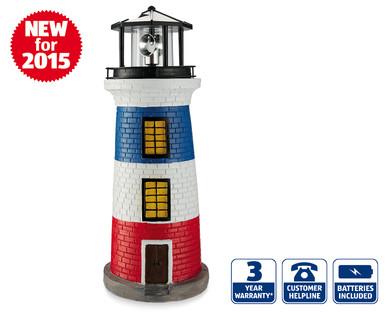 solar lighthouse aldi ireland specials archive. Black Bedroom Furniture Sets. Home Design Ideas