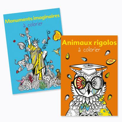 Album de coloriage adulte - Aldi — France - Archive des offres promotionnelles