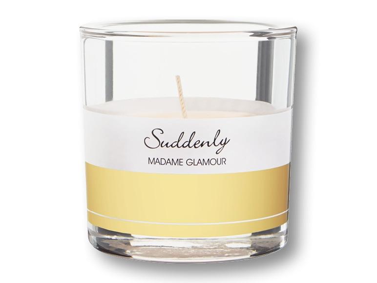 bougie parfum e dans un pot en verre madame glamour lidl suisse archive des offres. Black Bedroom Furniture Sets. Home Design Ideas