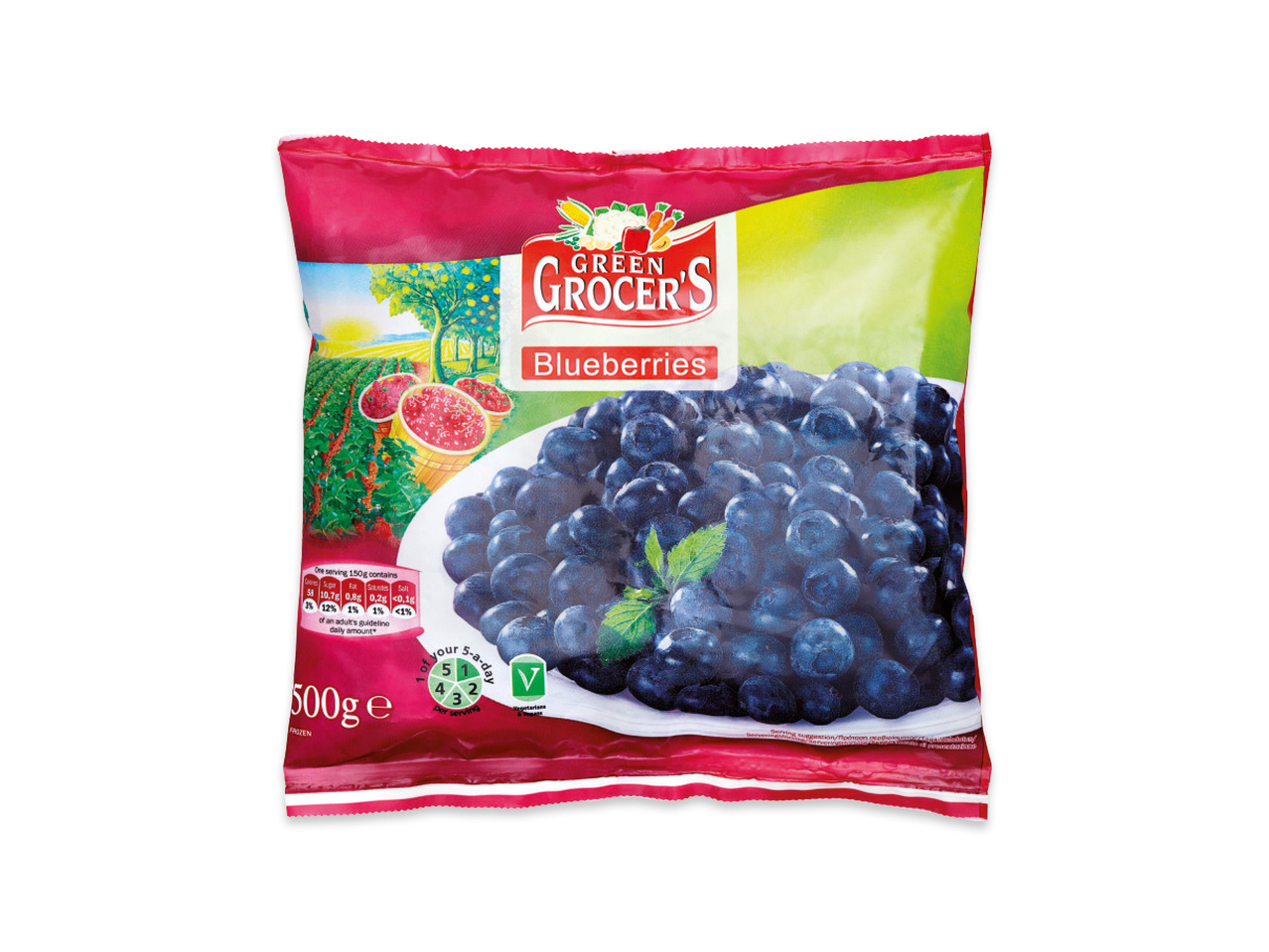 frysta blåbär pris