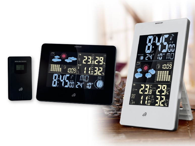 auriol weather station instructions