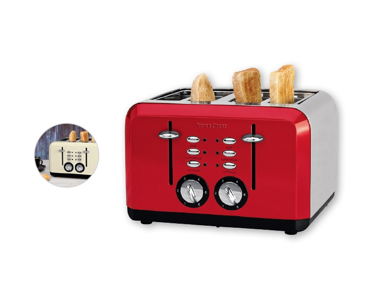 Silvercrest kitchen tools r 4 slice toaster lidl - Silvercrest kitchen tools opiniones ...