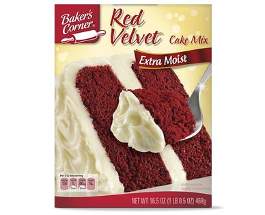 Red Cake Mix