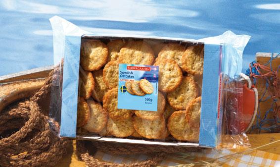 Biscuits de campagne ou à l\u0027avoine suédois