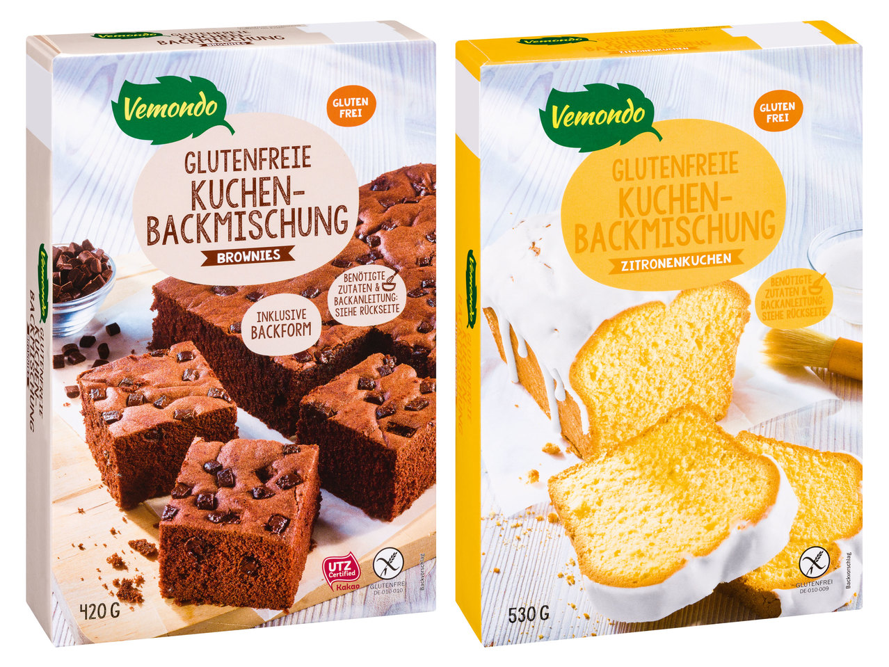 Vemondo Glutenfreie Kuchen Backmischung Lidl Osterreich Archiv
