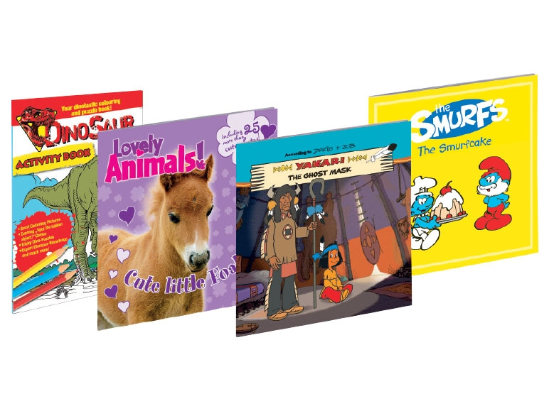 Kids' Story or Puzzle Books