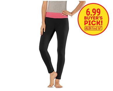 878f085896d27 Serra Ladies' Yoga Pants - Aldi — USA - Specials archive