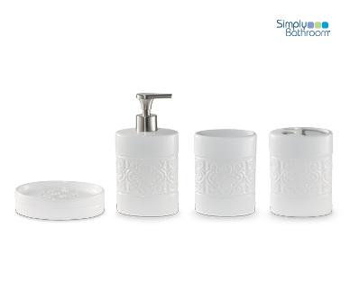 Bathroom Accessories Set 4 Piece Aldi Australia