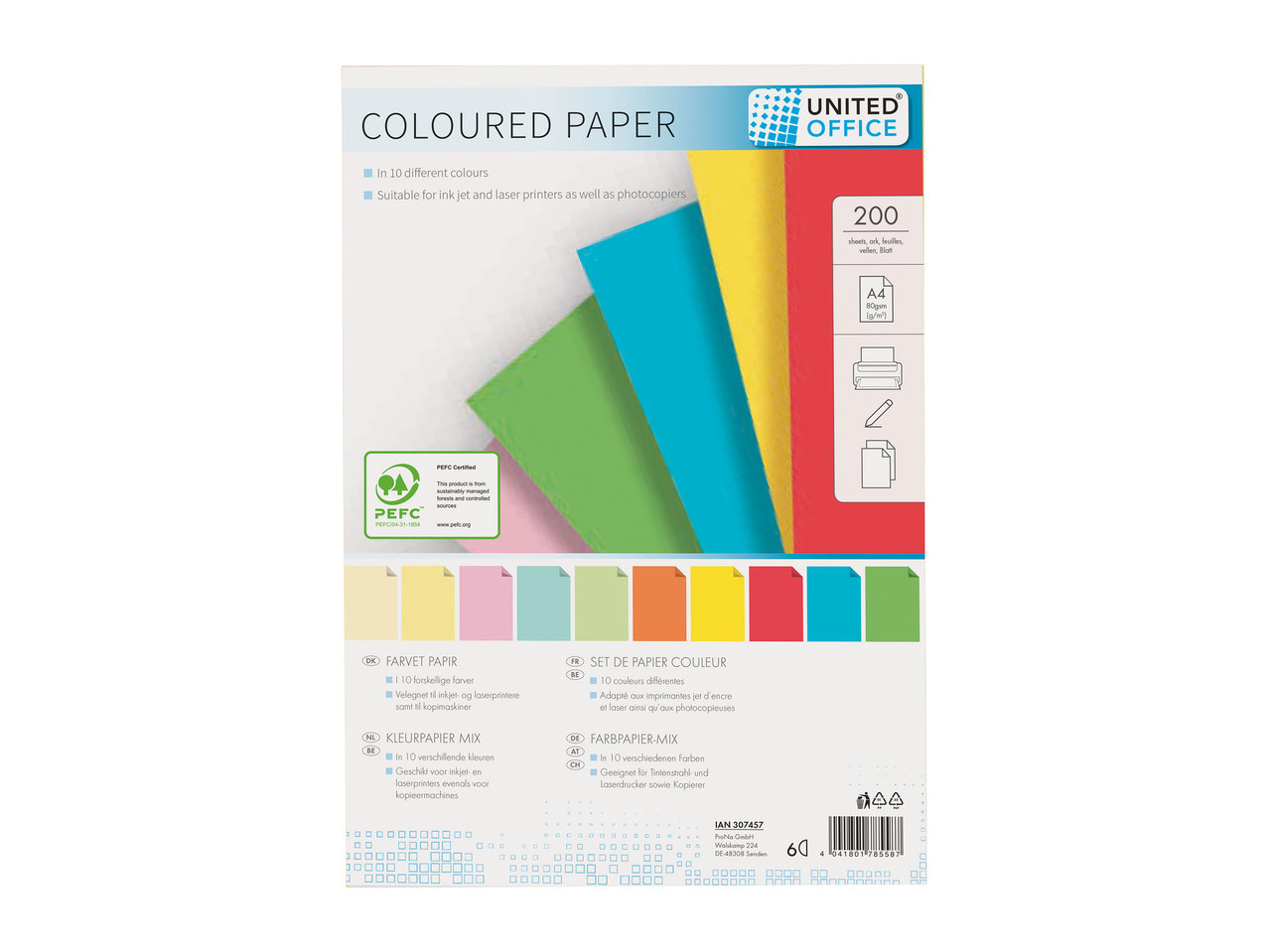 United Office Coloured Paper1
