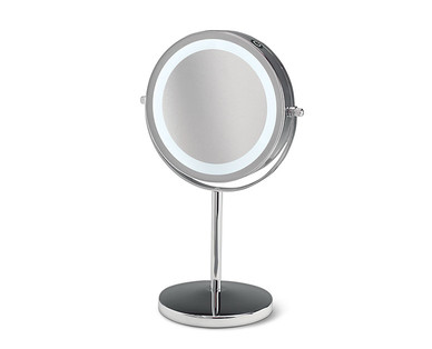Visage Double Sided Lighted Makeup Mirror Aldi Usa