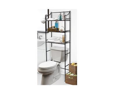 SOHL Furniture 3 Shelf Bathroom Space Saver ...