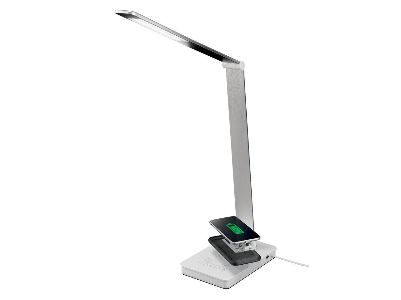 Lampă De Birou Cu Led și încărcător Wireless Pentru Telefon Lidl