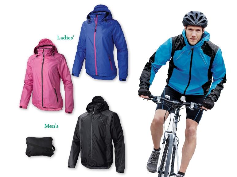 crivit r ladies 39 or men 39 s waterproof cycling jacket. Black Bedroom Furniture Sets. Home Design Ideas