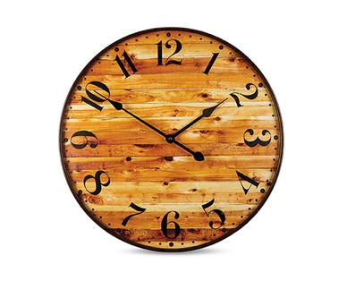 Huntington Home Premium Wall Clock Aldi Usa Specials Archive