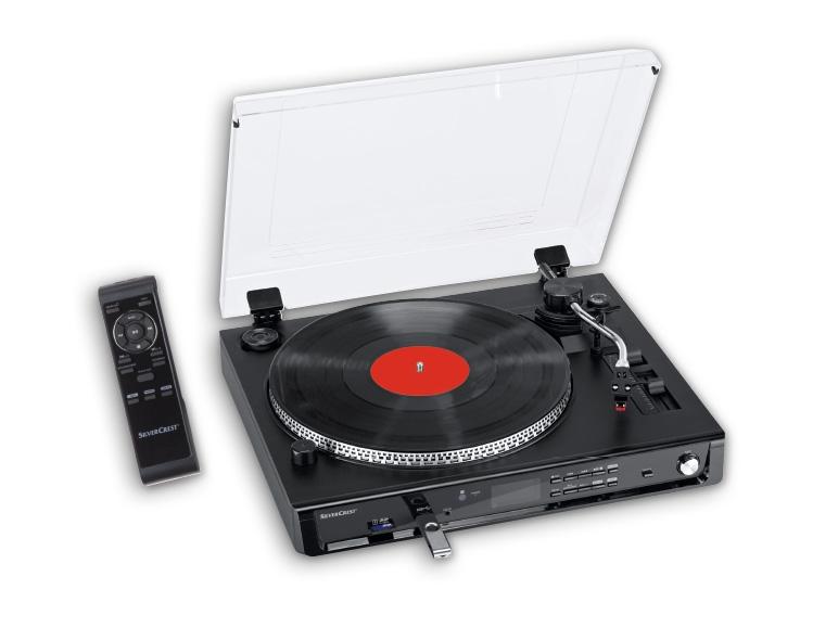 silvercrest r usb record player turntable lidl. Black Bedroom Furniture Sets. Home Design Ideas