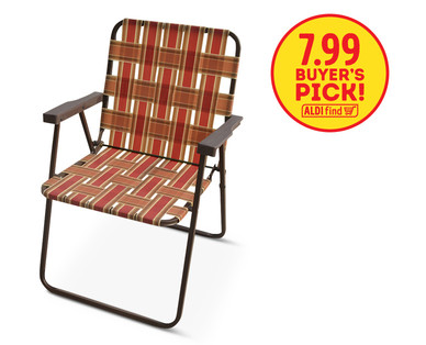 Amazing Gardenline Folding Web Chair ...