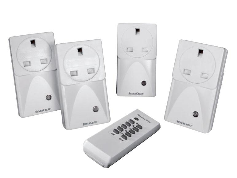silvercrest remote controlled electrical sockets lidl. Black Bedroom Furniture Sets. Home Design Ideas