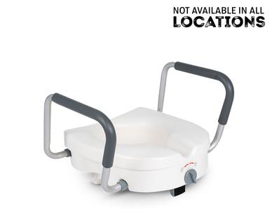 Welby Raised Toilet Seat Or Bathtub Safety Grab Bar Aldi