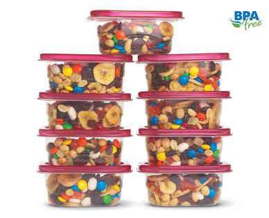 crofton 50 piece assorted food storage