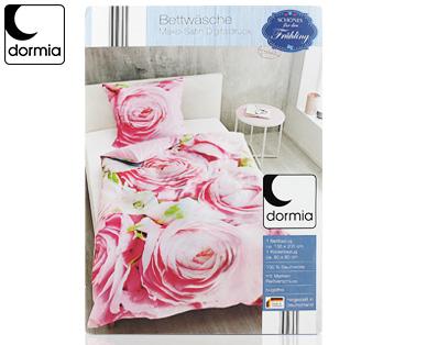 Dormia Mako Satin Bettwäsche Digitaldruck Aldi Süd Deutschland