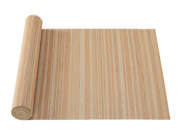 Sets de table en bambou ou chemin de tablebambus for Set de table bambou