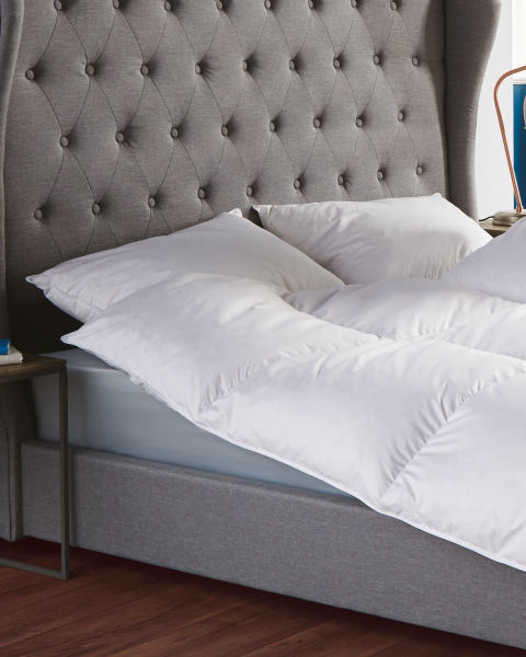 Slumberdown Duck Feather Pillow Pair Aldi Great