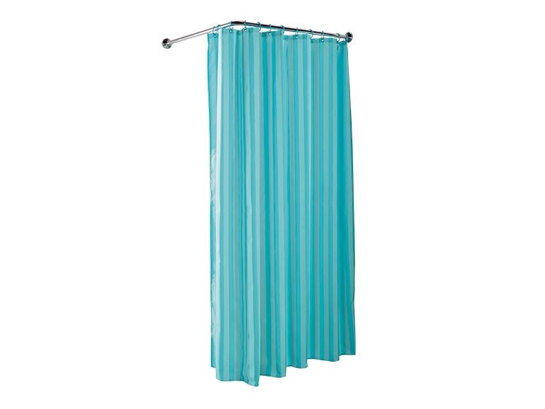 rideau de douche avec anneaux lidl france archive. Black Bedroom Furniture Sets. Home Design Ideas