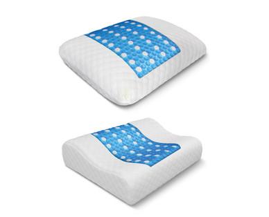 Huntington Home Gel Overlay Memory Foam Pillow Aldi Usa