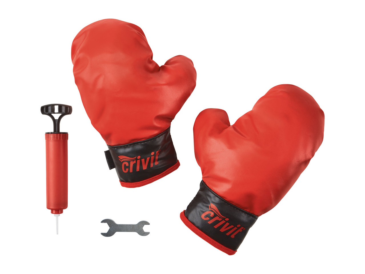 Crivit Kids Play Boxing Set Punch Bag Gloves