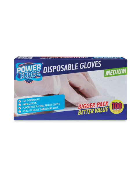 presenting details for buy online Power Force Disposable Gloves - Aldi — Ireland - Specials ...