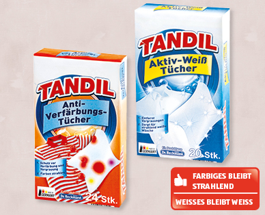 tandil anti verf rbungs aktiv weiss t cher aldi schweiz archiv werbeangebote. Black Bedroom Furniture Sets. Home Design Ideas