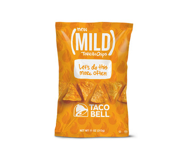Taco Bell Mild or Fire Tortilla Chips