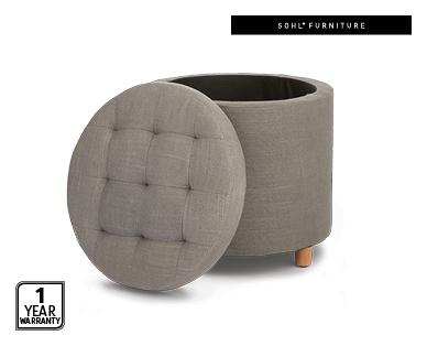 Superb Round Storage Ottoman Aldi Australia Specials Archive Creativecarmelina Interior Chair Design Creativecarmelinacom