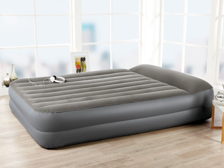 Meradiso Double Air Bed With Integrated Pump Lidl
