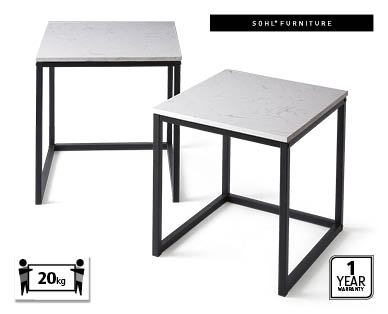 Marble Nesting Tables