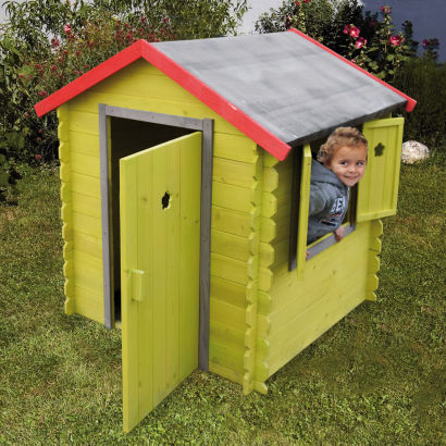Maisonnette en bois pour enfant aldi france archive for Maisonnette de jardin pour enfant