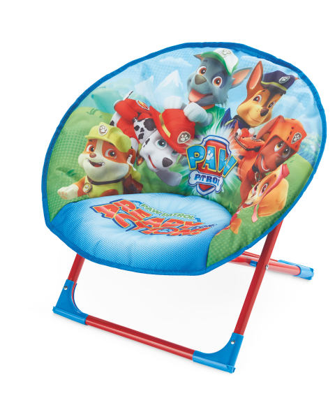 Blue Paw Patrol Moon Chair