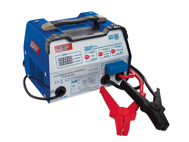 ultimate speed car battery charger with jump start