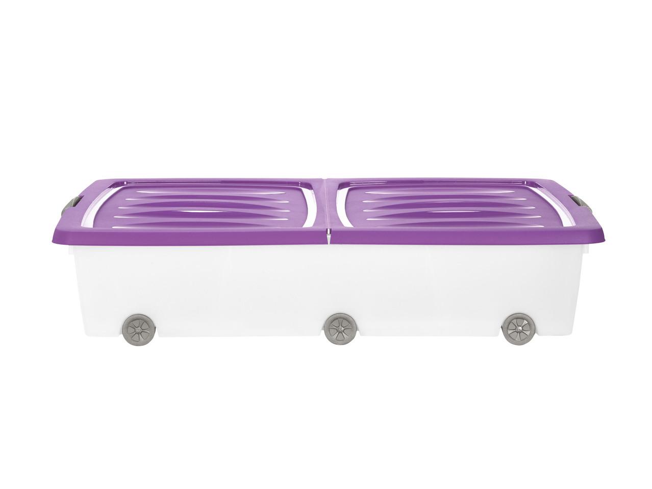 Cassetto Sotto Letto Con Ruote : Contenitore sottoletto con rotelle l lidl u italia