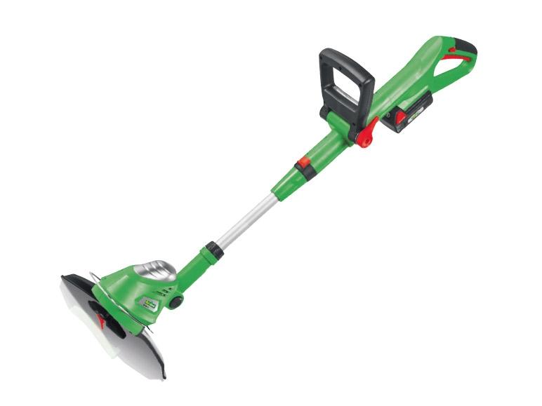 florabest 18v li ion cordless grass trimmer lidl great. Black Bedroom Furniture Sets. Home Design Ideas