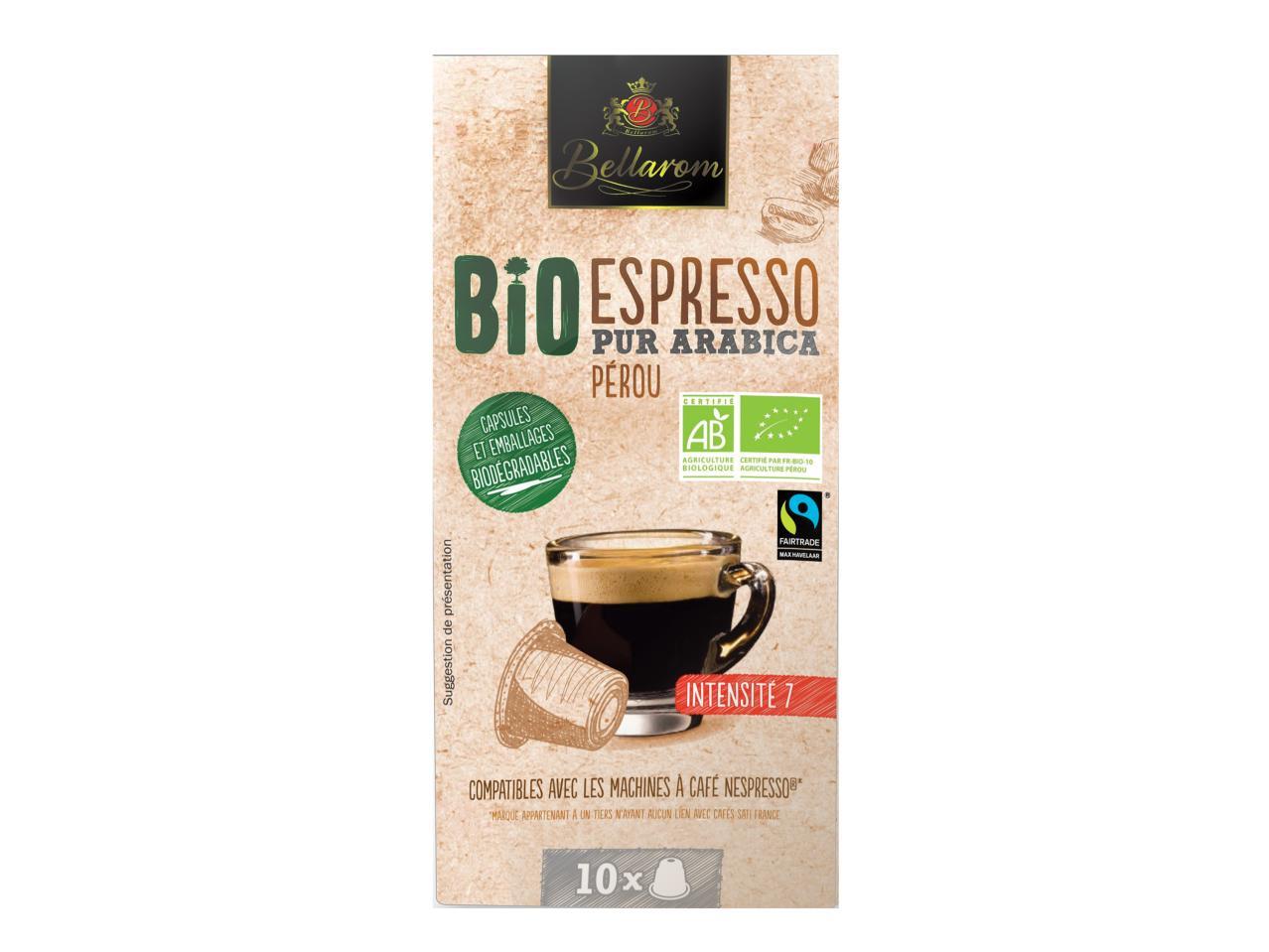 10 capsules espresso bio1 lidl france archive des. Black Bedroom Furniture Sets. Home Design Ideas
